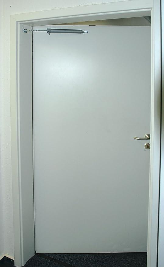 Mannesmann M41115 - Cierre de plástico para Puerta, Color Blanco: Amazon.es: Bricolaje y herramientas