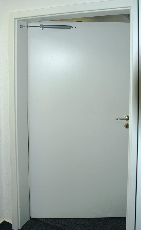 Mannesmann M41115 Pneumatic Door Closer In White Amazon Diy