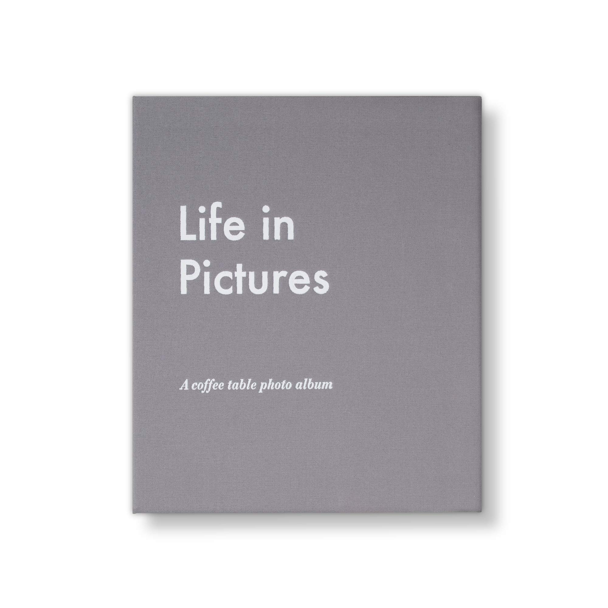 PRINTWORKS - Photo Album - Life in Pictures (Grey)
