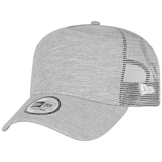 e96ecf21d97 New Era Men Caps Trucker Cap Jersey Grey Adjustable  Amazon.co.uk  Clothing