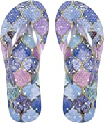 Showaflops Womens Antimicrobial Shower & Water Sandals for Pool, Beach, Dorm