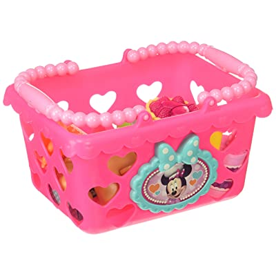 Minnie Mouse Shoptastic Basket Set: Toys & Games