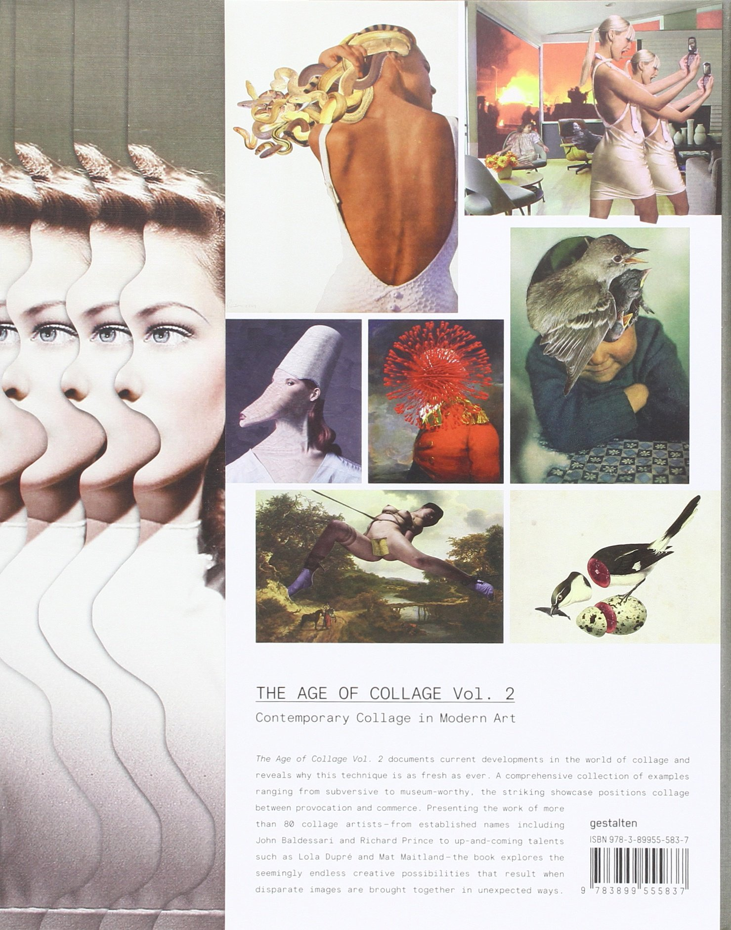 The Age of Collage Vol. 2: Contemporary Collage in Modern Art by Gestalten