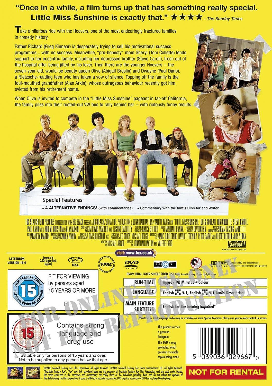 Little Miss Sunshine  DVD   2006   Amazon.co.uk  Abigail Breslin ... 38cf00d01
