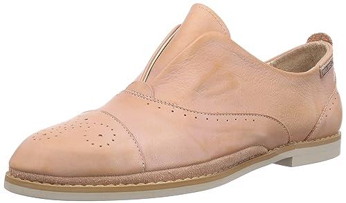Pikolinos SANTORINI W1B-3 - mocasines de cuero mujer, color rosa, talla 36: Amazon.es: Zapatos y complementos