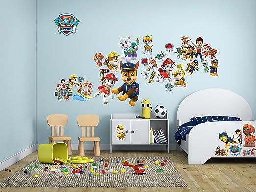 Paw Patrol Wandtattoo Wall Stickers Schalfzimmer Kinder Decoration