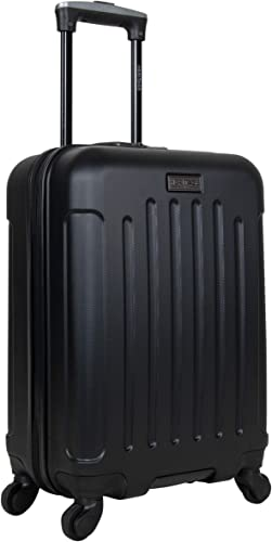 Heritage Travelware Lincoln Park 20 Hardside 4-Wheel Spinner Carry-on Luggage, Black
