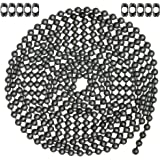 10 Foot Length Ball Chain, #13 Size, Dungeon Finish, & 10 Matching 'B' Couplings