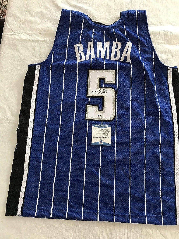 sale retailer 20fb2 b79f3 Mo Bamba Autographed Signed Orlando Magic Jersey Beckett ...