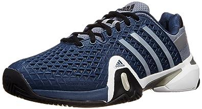 ADIPOWER BARRICADE 8+ BLU Chaussures Tennis Homme Adidas