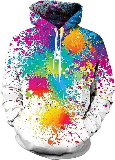 Artwork Galaxy 3D Graphic Print Women Men Hoodie Sweatshirt Pullover Jumper Tops