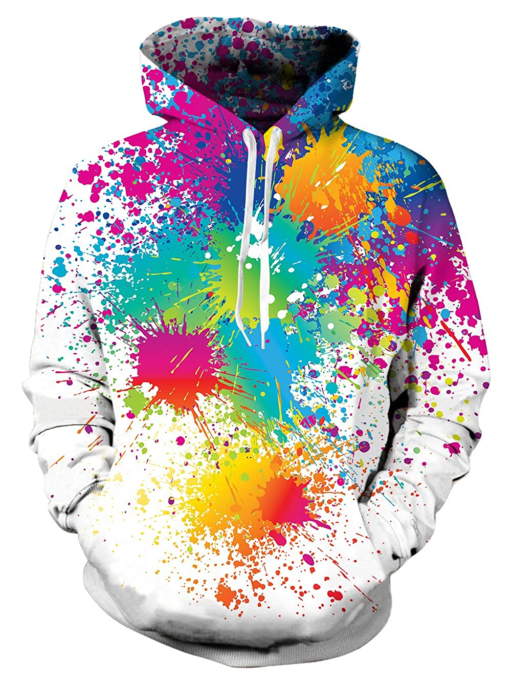 6dfd028e Baggy casual pullover hoodie is all over print, no fading,cracking,peeling  or flaking; it would wick away moisture as a sweatshirts.