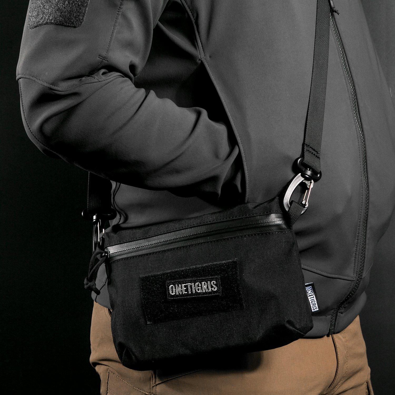 OneTigris Shoulder Straps Replacement Adjustable Strap for Briefcase Laptop Duffle Messenger Gym Bag with Swivel Clips 32''-81.3'' Length (Black) by OneTigris (Image #6)