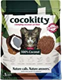 ECO>ABSORB Coconut Cat Litter - Flushable Hypoallergenic Lightweight Kitty Litter - Odor Free, Natural, Biodegradable…