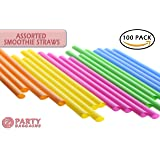 Party Bargains 2388 Disposable Drinking Straws, 9 inch
