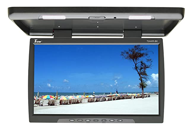 81SkFmMaNgL._SX644_ amazon com tview t244ir bk 24 inch car flip down monitor (black  at alyssarenee.co