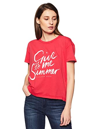 926505f7 Tommy Hilfiger Women's Graphic Print T-Shirt: Amazon.in: Clothing ...