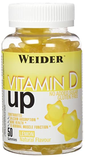 WEIDER Gummy up Revolution SIN GLUTEN Vitamin D 50 Gom.