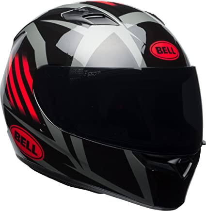 Bell Motorcycle Helmet >> Amazon Com Bell Qualifier Full Face Motorcycle Helmet Gloss Black