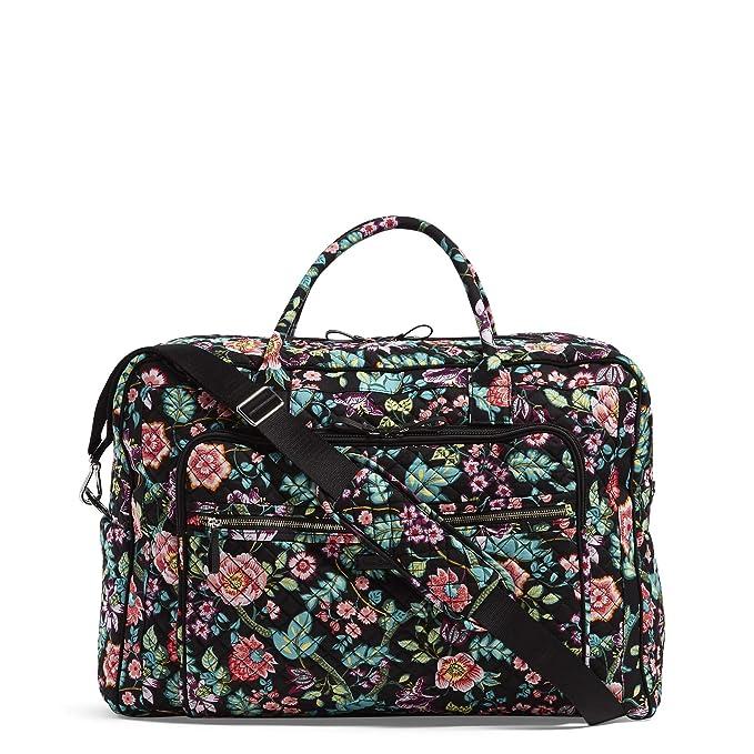 28e894574992 Vera Bradley Iconic Grand Weekender Travel Bag