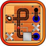 大理石のマニア – 最新のアクション パズル ゲーム。迷路ボード迷路を介してローリング銀色の球ボールガイドします。