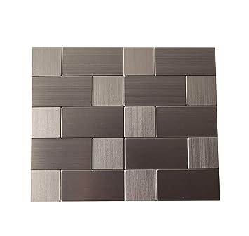 Amazoncom Gua Peel And Stick Wall Tile Backsplash For Kitchen