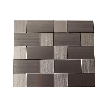Gua Peel And Stick Wall Tile Backsplash For Kitchen Modern And Sleek Look 56 Stick On Backsplash Tile
