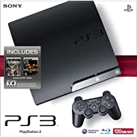 PlayStation 3 120GB System with Killzone 2 and inFAMOUS - 2009 Black Friday Bundle