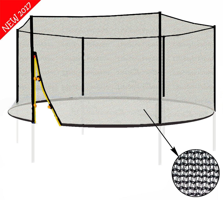 L-F-370 (A) LifeStyle ProAktiv 370cm Trampolin Sicherheitsnetz 140g/m²