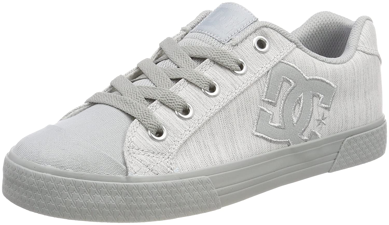 DC Shoes Chelsea, Zapatillas para Mujer 41 EU|Gris (Grey/Grey/Grey - Combo Xsss)
