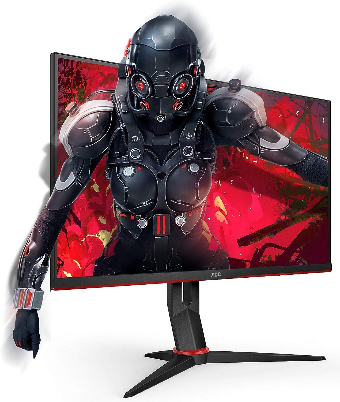 Aoc 24g2u Bk Monitor Da Gaming Flat 23 8 Ips Frameless Fhd 1920 X 1080 A 144 Hz Tempo Di Risposta 1 Msec Mprt 2 X Hdmi 1 Dp 4 X Usb Speaker Regolabile In