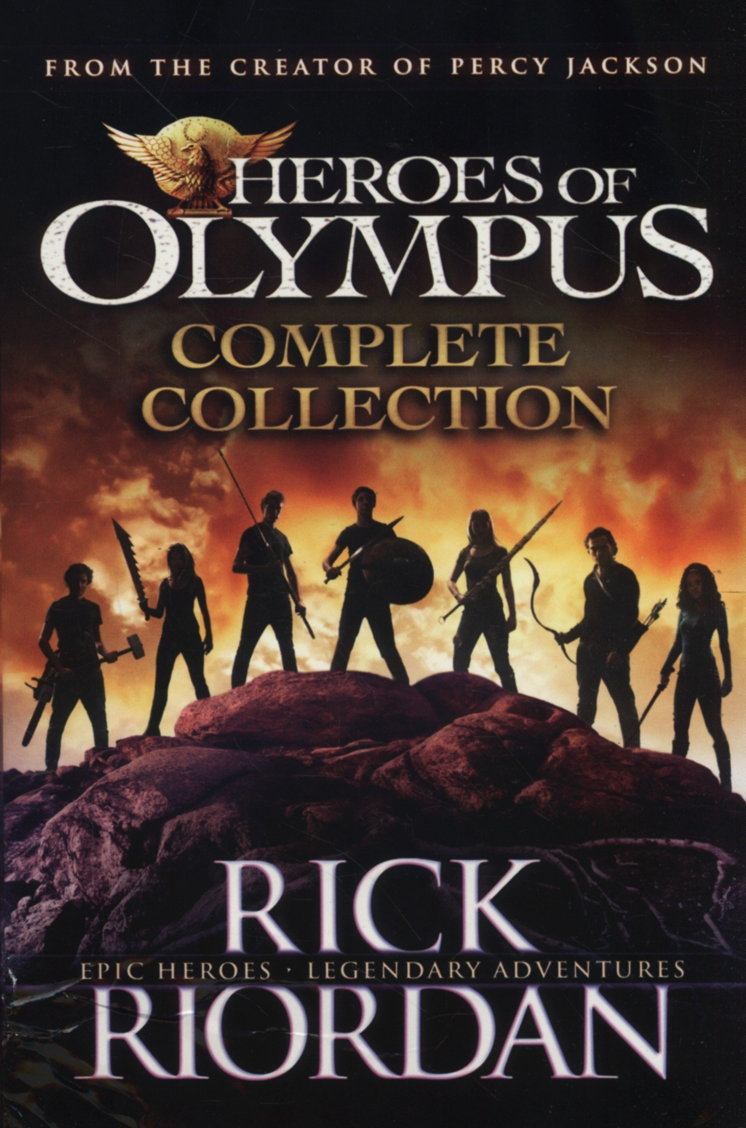 Heroes Of Olympus The Blood Of Olympus Ebook