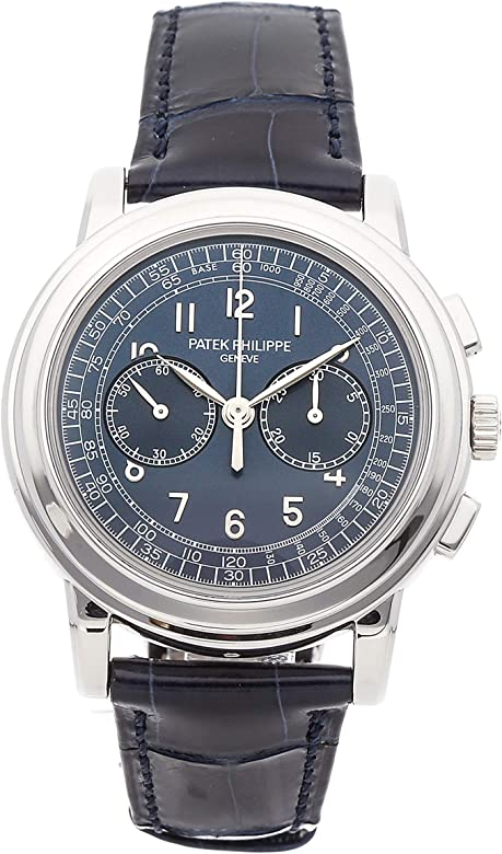 9c933cf8812 Patek Philippe Complications Mechanical (Hand-Winding) Blue Dial Mens Watch  5070P-001