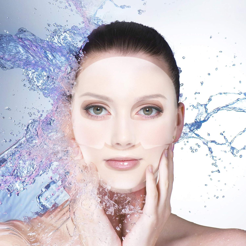 b1fe0b83941e Amazon.com   SAMPAR - H2O  EMERGENCY  MASK! - Highly moisturizing hydrogel  Serum-Mask - All Skin Types - Cruelty-Free