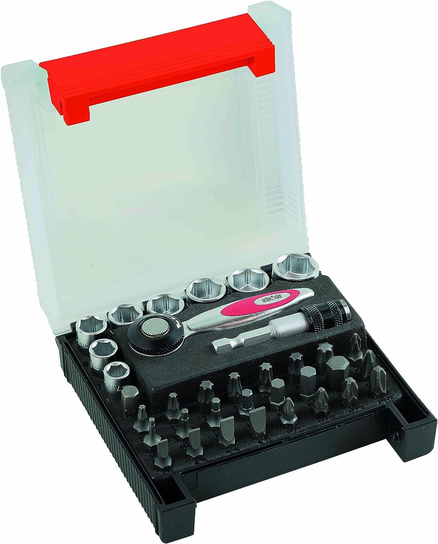 Peddinghaus Handwerkzeuge Vertriebs Mini Ratschensatz 35-teilig 9460035001