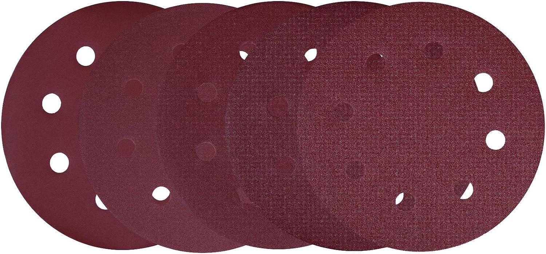 F/ür Wand- // Deckenschleifer Universal VONROC Schleifpapierset 25-teilig mit Klettverschluss 225 mm