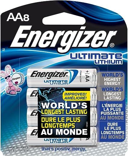 Pila aa energizer precio