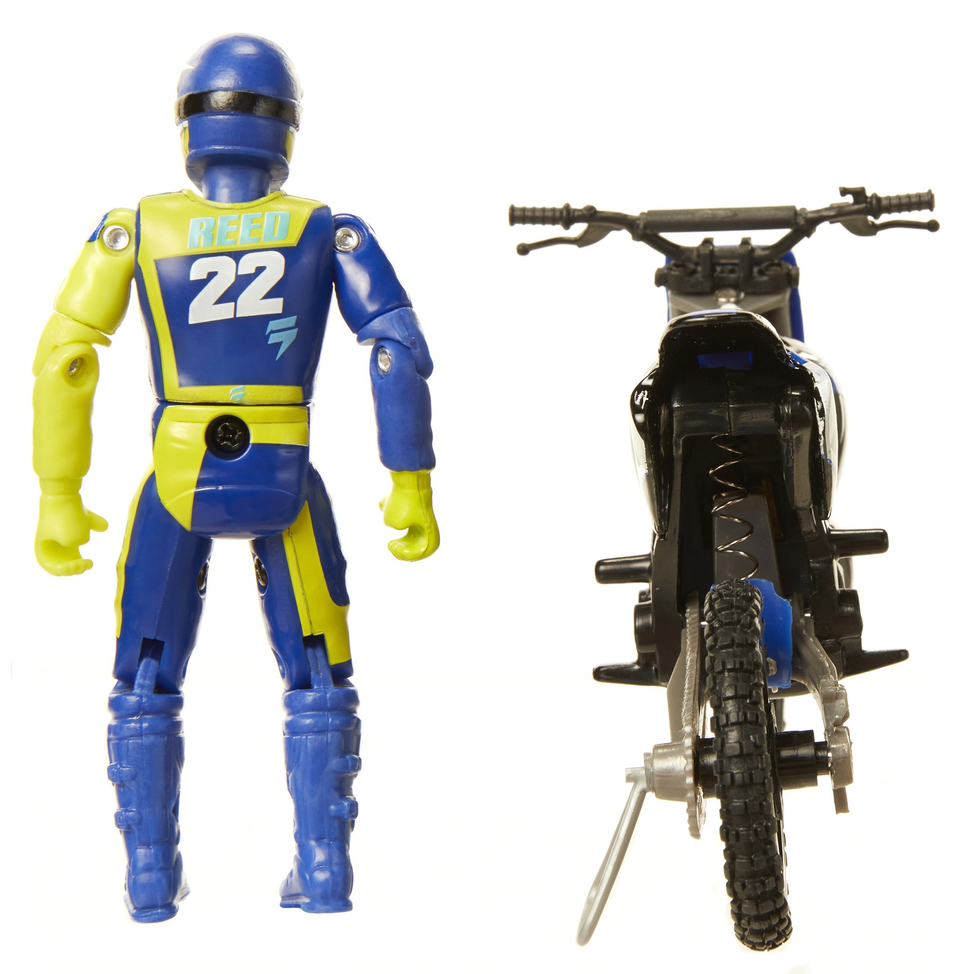 MXS Boys Chad Reed SFX Bike & Rider Set by MXS (Image #8)