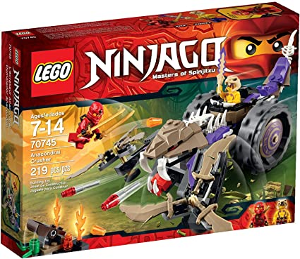 Amazon.com: Juguete LEGO Ninja Go demoledor Anacondrai: Toys ...