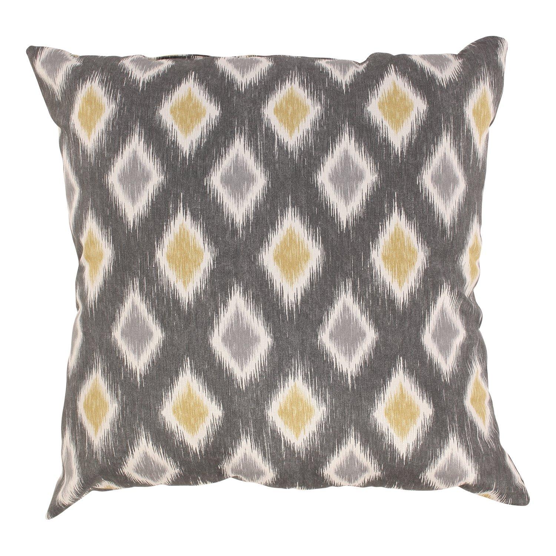 Pillow Perfect Rodrigo 24.5-Inch Floor Pillow, Graphite