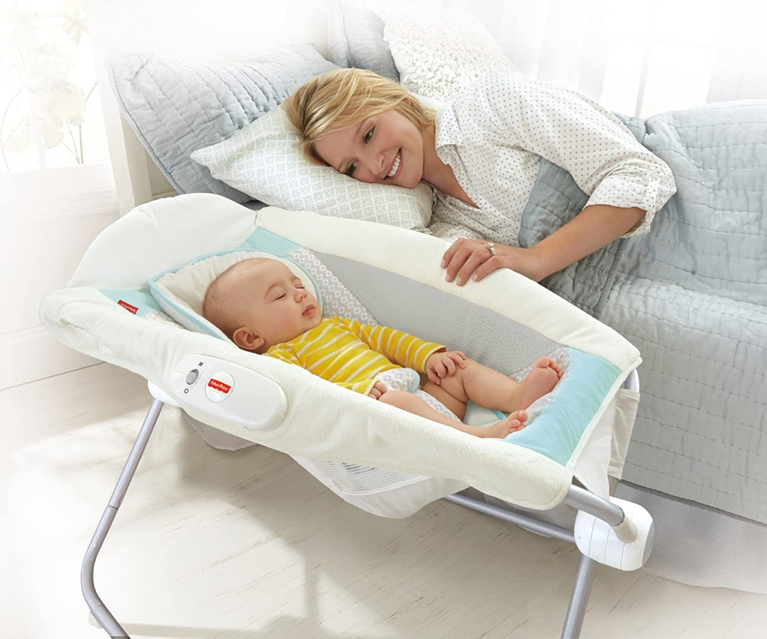 Fisher-Price Moonlight Meadow Deluxe Newborn Rock n Play Sleeper by Fisher-Price: Amazon.es: Bebé