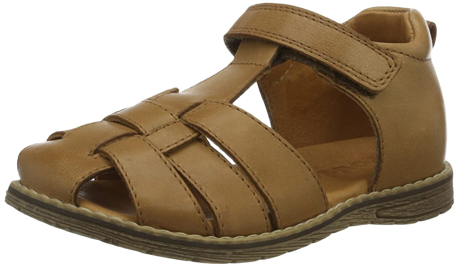 Froddo Boys Brown Sandal G3150083-3 Closed Toe