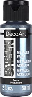 product image for Deco Art DecoArt 2 Ounce, Pewter Extreme Sheen Paint, 2 oz