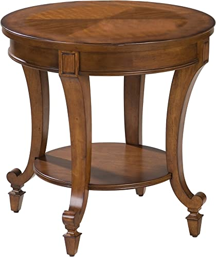 Magnussen Aidan Wood Round End Table