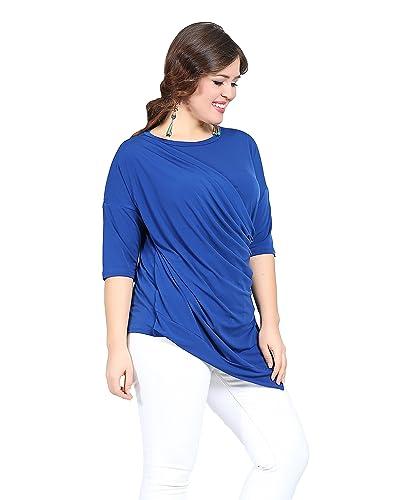 Valeria Fratta - Camisas - Wickelbluse - Básico - para mujer