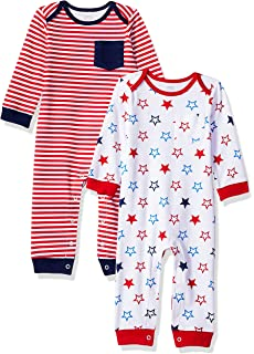 Essentials Unisex Baby 2-Pack Coverall