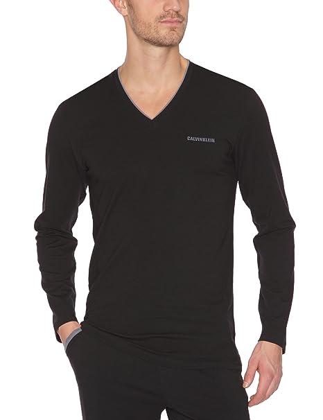 Calvin Klein Camiseta de pijama para hombre: Amazon.es: Ropa y accesorios