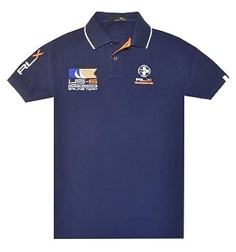 RLX Ralph Lauren Men \u0026amp;quot;Sailing Team \u0026amp;quot;Logo Polo Shirt ...