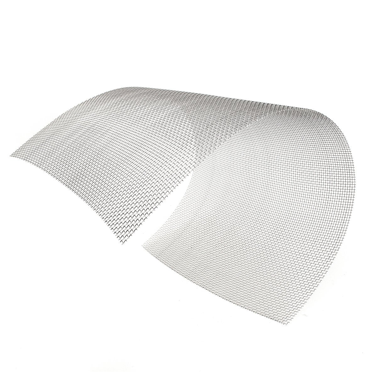 (Set of 1) - 12''x24'' 8 Mesh Woven Wire 304 Stainless Steel Filtration Grill Sheet Filter - 30x60cm