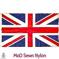 Union Jack Flag MoD Sewn Nylon Fabric Large Great Britain British GB UK 5ft x 3ft